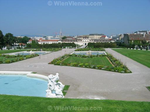 Vienna Belvedere Palace Gardens