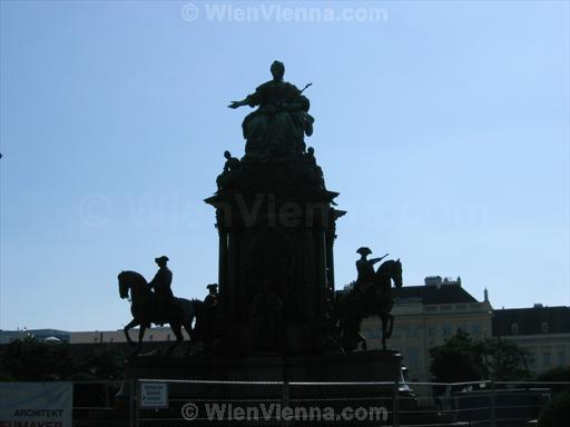 Maria Theresa Monument at Maria-Theresien-Platz