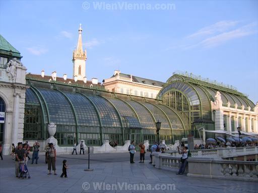 Palmenhaus in Vienna Burggarten Park
