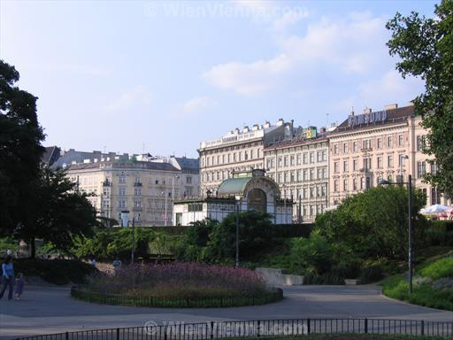 Resselpark at Karlsplatz in Vienna