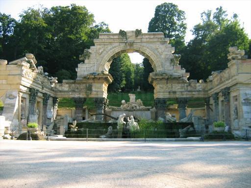 Roman Ruin in Schönbrunn Park, Vienna