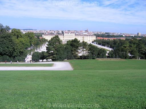 Schönbrunn Palace and Vienna Seen from the Gloriette